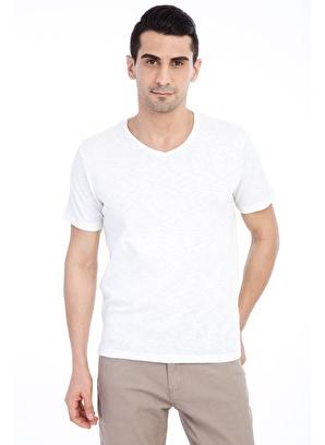 Kiğılı V Yaka Tişört